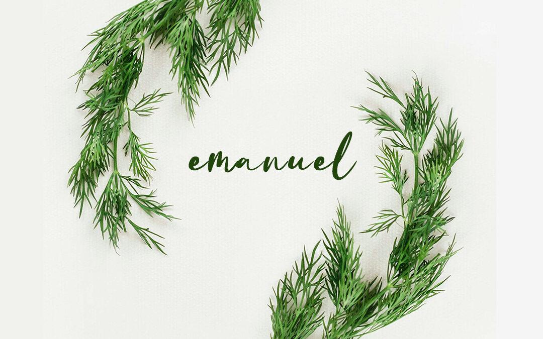Emanuel, God With Us